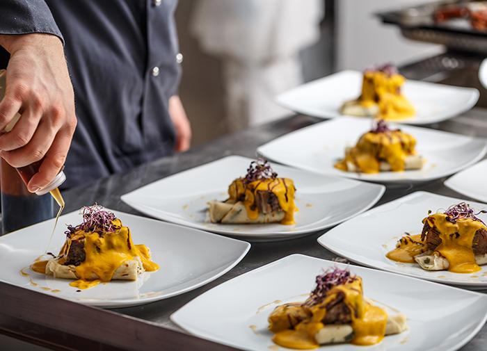 best wedding caterers in london - texturecatering