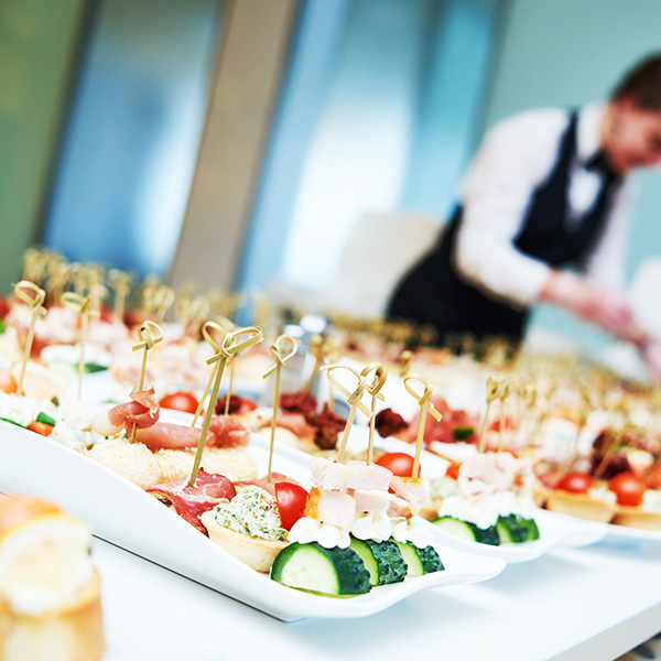 wedding, corporate, food events catering in London